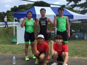 日本U19トライアスロン選手権七ヶ浜