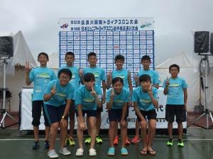 日本U15選手権長良川
