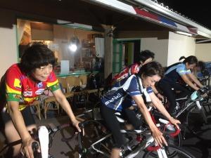 バイクローラーセッション!